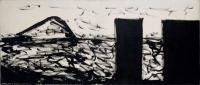 One of McCahon's Muriwai 'Necessary Protection' series, 1971